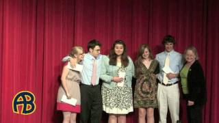 ABRHS Scholarship Night 2012 PT2