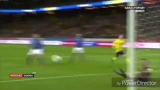 Sveriges mål mot Italien. Swedens Goal vs italy