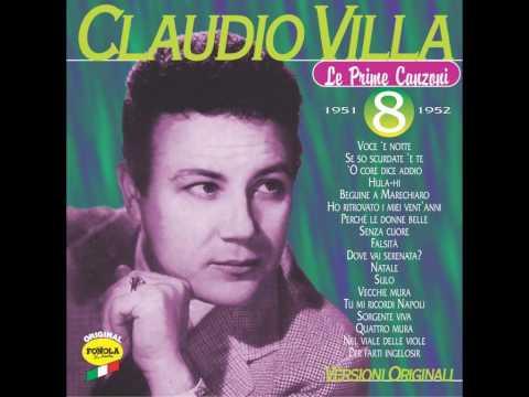 Claudio Villa       -       Beguine A Marechiaro