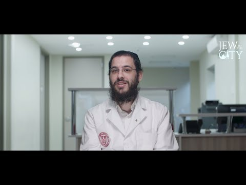 Meet The 1st Hasidic Jew In Israel To Go To Med School