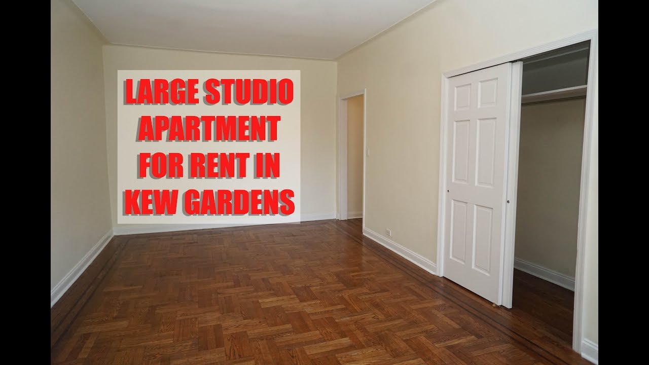 Big and all new studio apartment for rent in kew gardens ...