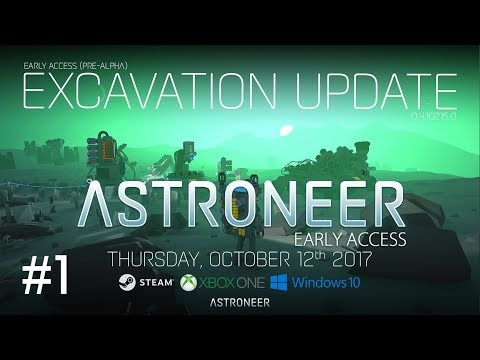 Astroneer Patch 215 - The Excavation Update - Part 1