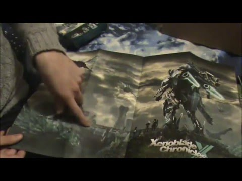 Xenoblade X Mega Unboxing with OST by Hiroyuki Sawano