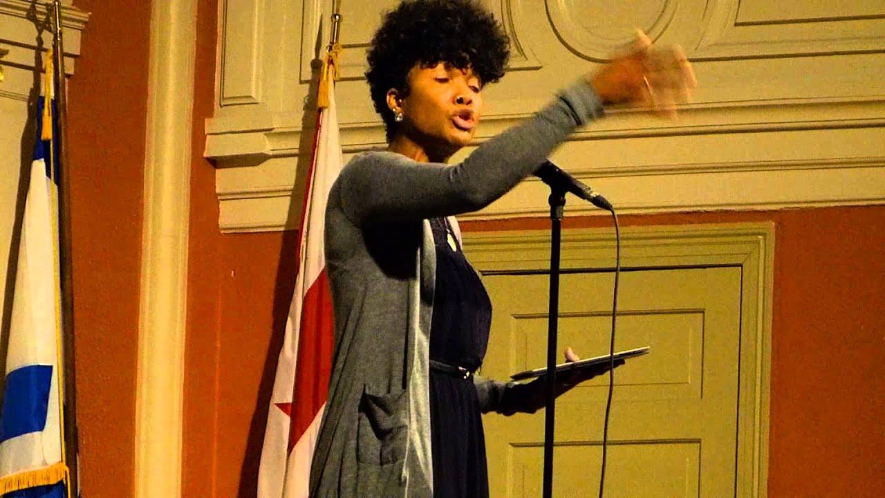 """Dominique Christina - """"The Period Poem"""""""