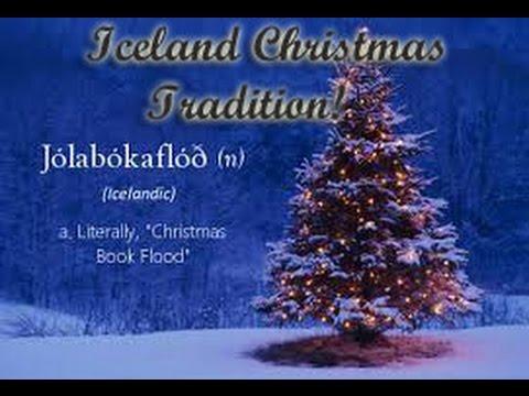 Jolabokafloo Book Flood An Icelandic Christmas Tradition