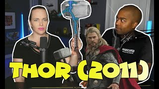 WATCHING Thor For The Very First Time (Jane and JV Marvel  Movie Marathon Reaction 🔥)