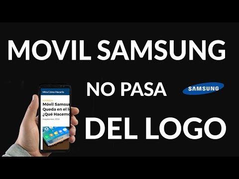 Móvil Samsung se Queda en el logo ¿Qué Hacemos?