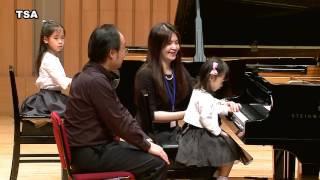 Taiwan Suzuki Association/ Twinkle/ Yu-Wei Huang(Age 3) Wong, Yuan-Jen (Elizabeth Wong) Age 6