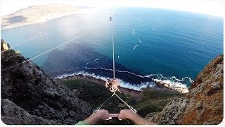 BASE Jump Off Tight Rope (EXTENDED)