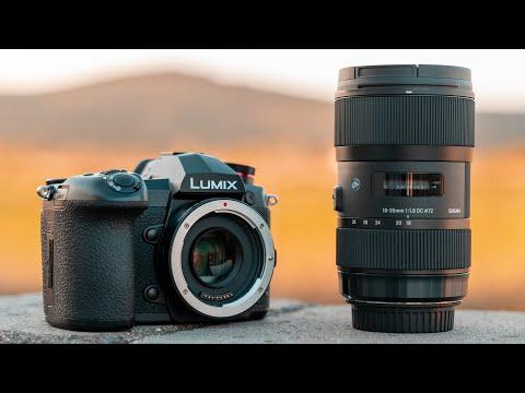 Viltrox EF-M2 Speedbooster w/ Panasonic G9 and Sigma 18-35mm F1.8