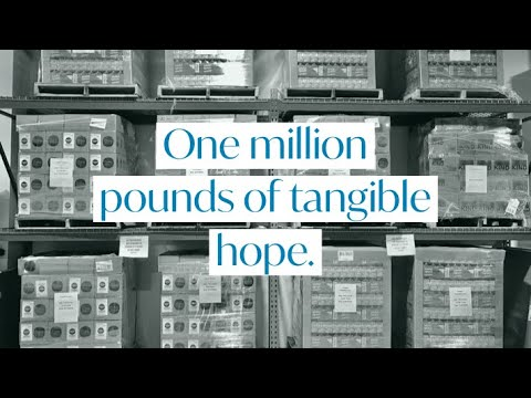 1 Million Pounds of Food to 50,000 Families