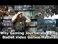 Why Video Game Journalists Being Bad at Video Games Matters - AlphaOmegaSin