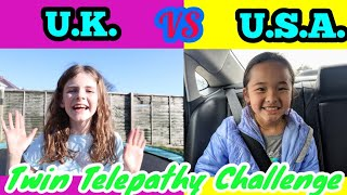 TWIN TELEPATHY Toy Unboxing Overseas (USA & UK) Meg & Mo Show vs Miya and Emmi + LOL Series 5 Lils