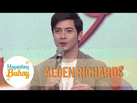Alden Richards' first time | Magandang Buhay