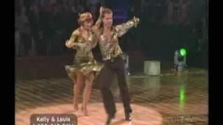 Kelly and Louis dance Samba - DWTS Season 9 Week 3