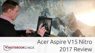 Acer Aspire V15 Nitro Black gaming review. GTX 1060. 2017