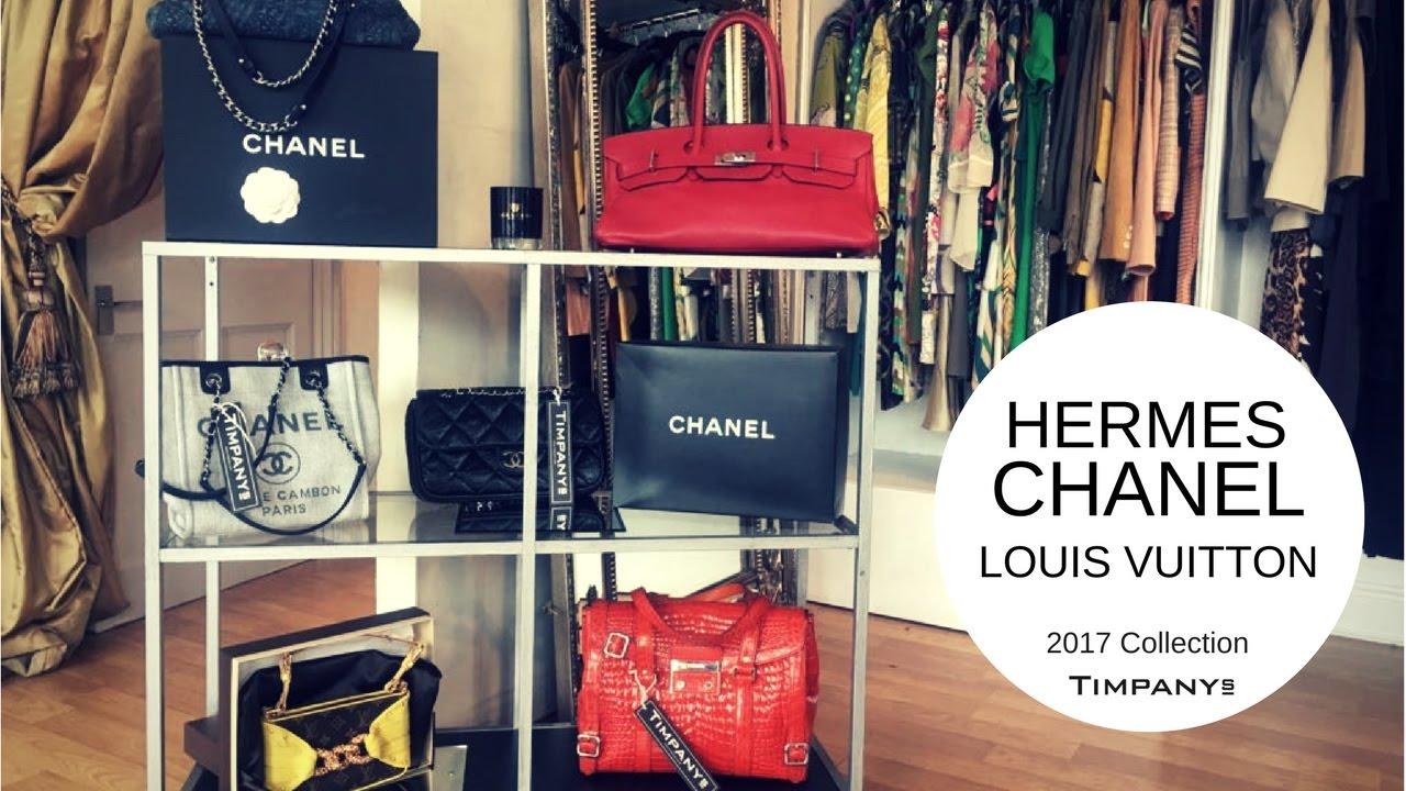 588feeb3a0a Designer bag collection 2017   Hermes Birkin, Louis Vuitton L extrodanaire,  Chanel flap