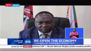 Re-open the Economy: Chamber of commerce speaks out, rallies the president to re-open economy