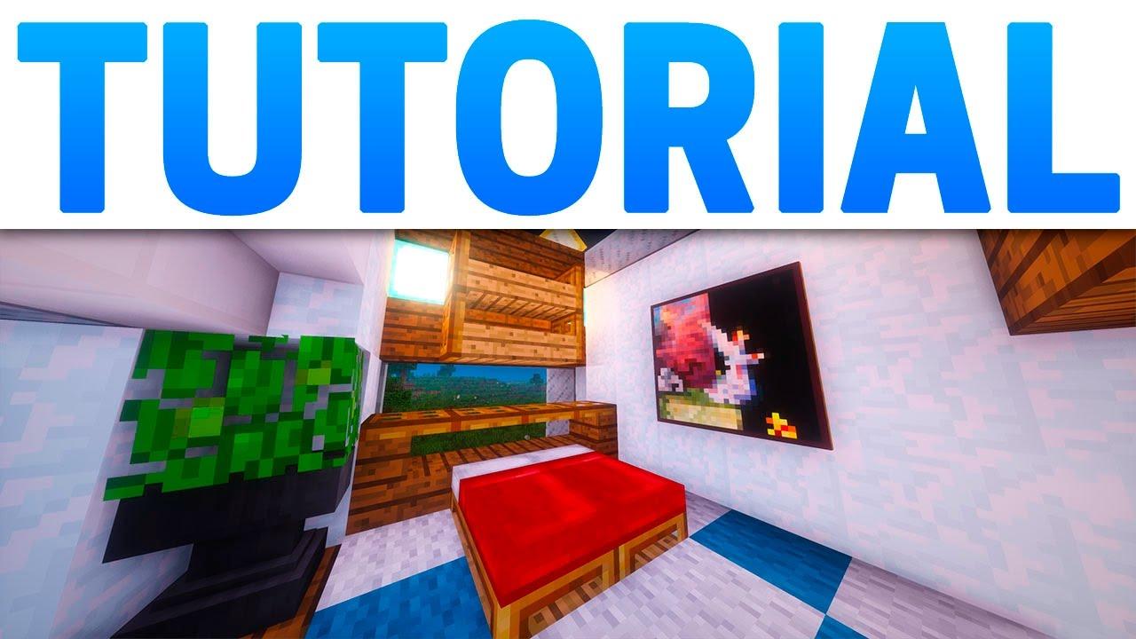 Minecraft interior de la casa moderna compacta y bonita for La casa moderna
