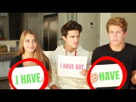 NEVER HAVE I EVER w/ SISTER AND HER 'BOYFRIEND' | Brent Rivera