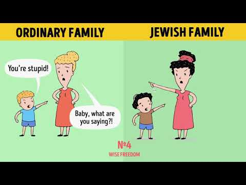 10 Parental Rules That Turn Jewish Kids Into Geniuses
