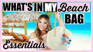 WHAT'S IN MY BAG! BEACH BAG EDITION!