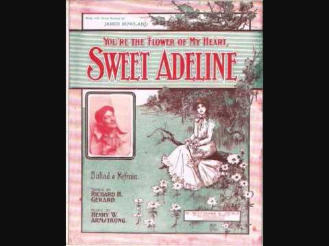 Haydn Quartet - Sweet Adeline (You're the Flower of My Heart) (1904)