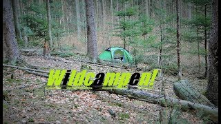 Naturimpressionen - Über Nacht im Wald! Spessart Hike
