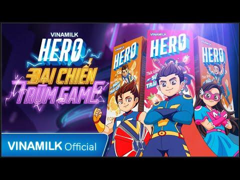 MV HOẠT HÌNH HERO -TẬP 1  BIỆT ĐỘI HERO ĐẠI CHIẾN TRÙM GAME   SỮA VINAMILK HERO   QUẢNG CÁO CHO BÉ