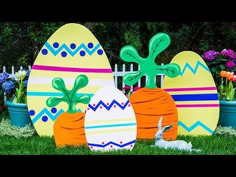 DIY Outdoor Easter Decor - Home & Family