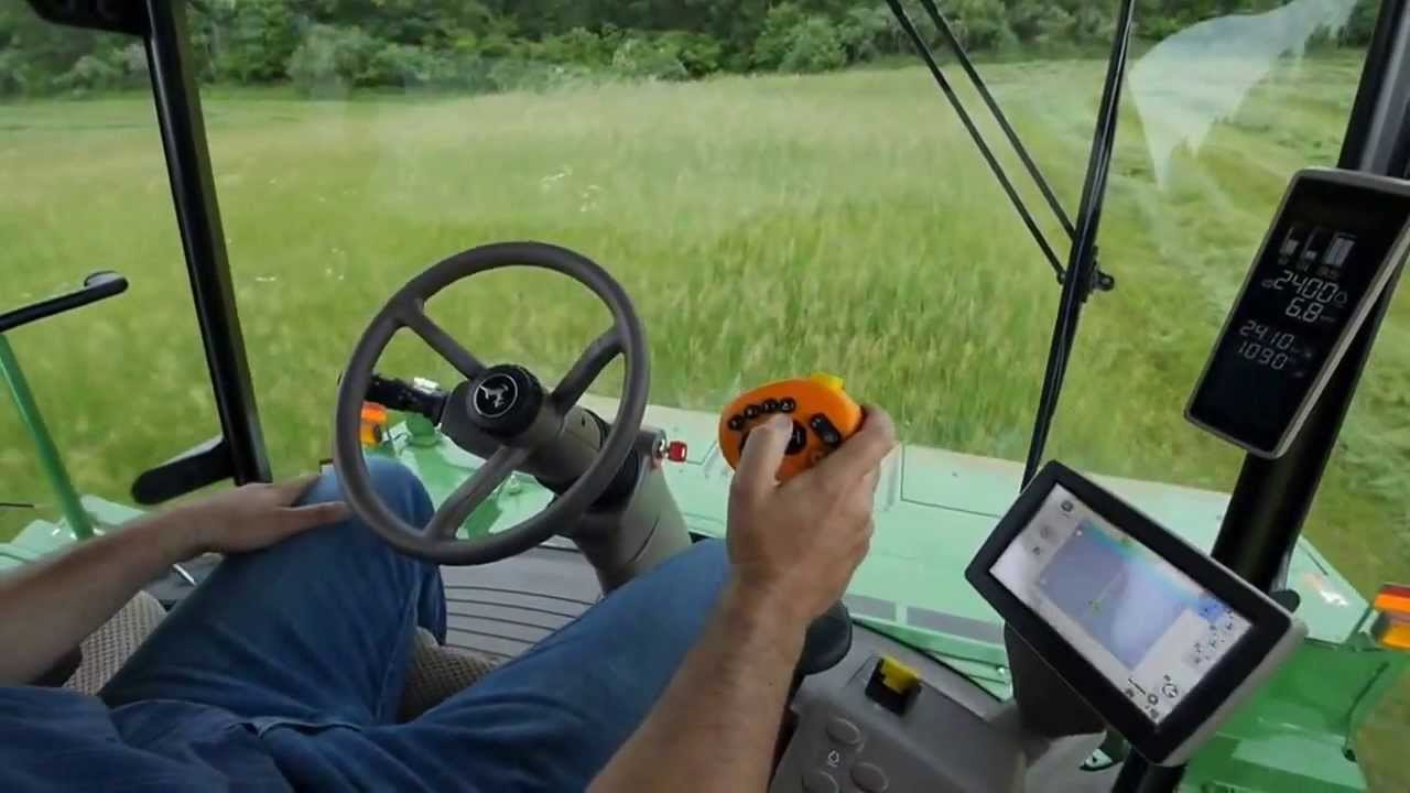 John Deere: W235 Windrowers Video