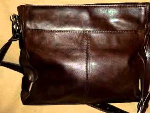Stone Mountain Brown Soft Leather Shoulder Bag