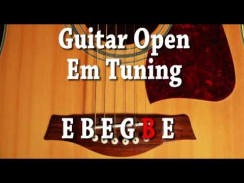 Guitar Open Em Tuning E B E G B E
