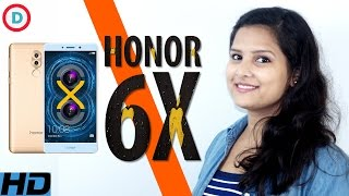 Huawei Honor 6X Detailed Specs & Features In Hindi | Dual Lens Camera | 3GB/4GB RAM  | Opinion