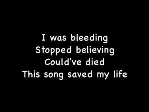 This Song Saved My Life - Simple Plan (Lyrics)