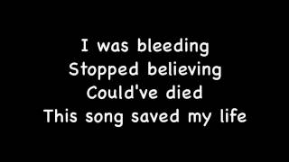 This Song Saved My Life - Simple Plan (Lyrics)