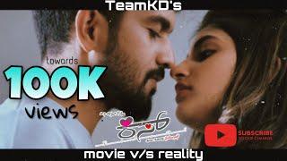 Movie v s Reality ft KISS TeamKD Viraat Sree Leela AP Arjun films