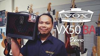 VOX VX50 BA - Demo!