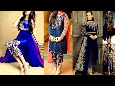 Viral/Trending Navy Blue color dresses|Latest Navy Blue color dress designs collection|Beautiful You