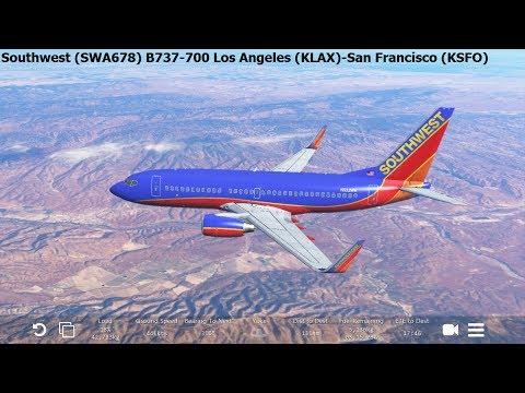 [Infinite Flight Global] Southwest Airlines (SWA678) Boeing B737-700 Los Angeles San-Francisco