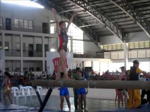 palarong panbansa laguna 2014 gymnastic first day