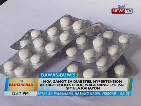 gamot sa diabetes