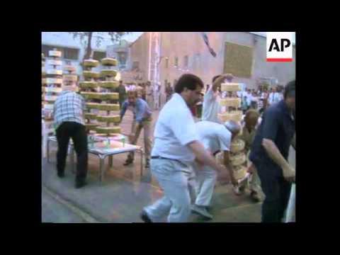 IRAQ: BAGHDAD: PRESIDENT SADDAM HUSSEIN CELEBRATES 60TH BIRTHDAY
