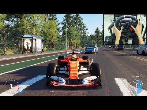 F1 Car The Crew 2 | Logitech G29 Gameplay