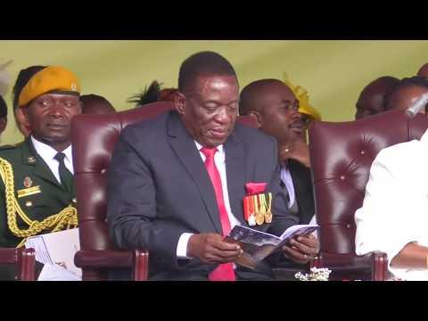 Emmerson Mnangagwa begins task to rebuild Zimbabwe economy