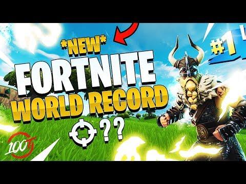 THE *NEW* FORTNITE WORLD RECORD - 54 Kills (We Beat FaZe Clan)