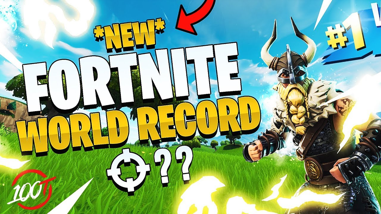 THE *NEW* FORTNITE WORLD RECORD - 54 Kills (We beat FaZe ...