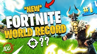 THE *NEW* FORTNITE WORLD RECORD - 54 Kills (We beat FaZe Clan)