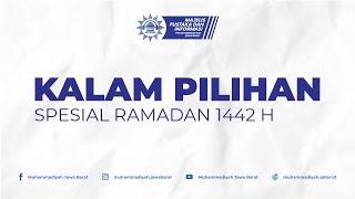 Kalam Pilihan Ramadan 1442 H 1