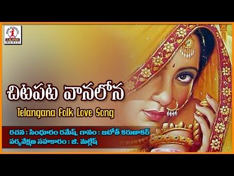 Chita Pata Vanalona Telugu Love Songs | TelanganaFolk Dj Songs | Lalitha Audios And Videos